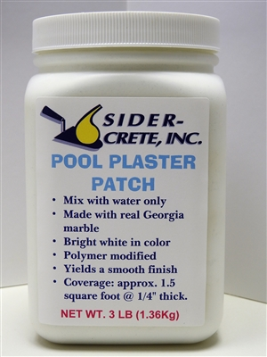 Sider Pool Plaster Patch 3lbs